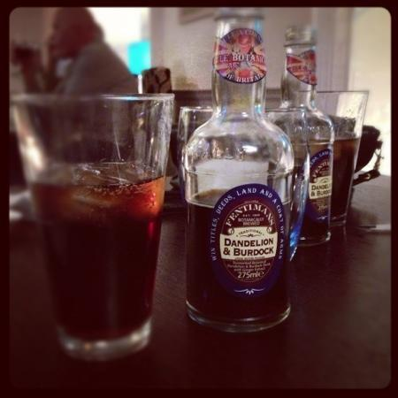 The Old Bank City Pub & Chop House: Fentimans Dandilion & Burdock, this stuff is lovely.