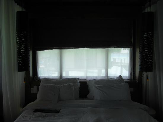 Le Meridien Bora Bora: Bed area