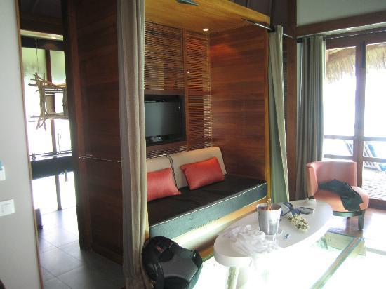 Le Meridien Bora Bora: Living area
