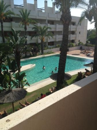 Alanda Hotel Marbella: view from our room