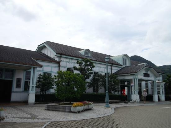 Hagi Station: 駅舎