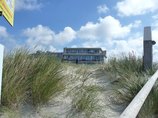 Westcord Strandhotel Seeduyn: Zo dichtbij het strand...