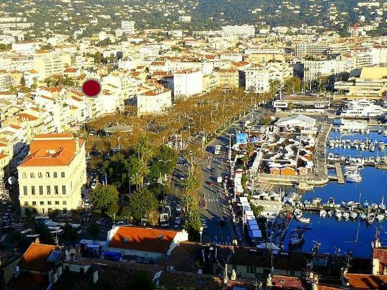 Residence Coeur de Cannes: Situation géographique