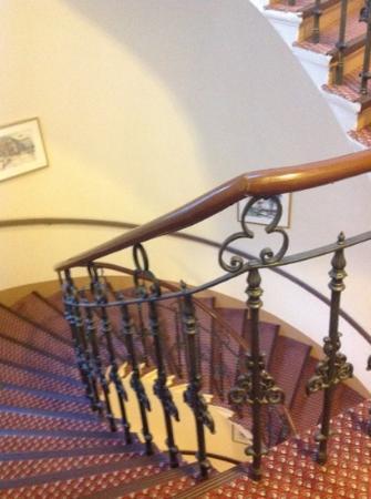 Hotel Austria : 螺旋階段