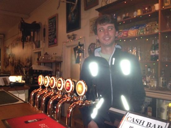 Star and Garter Hotel : Me behind the bar!