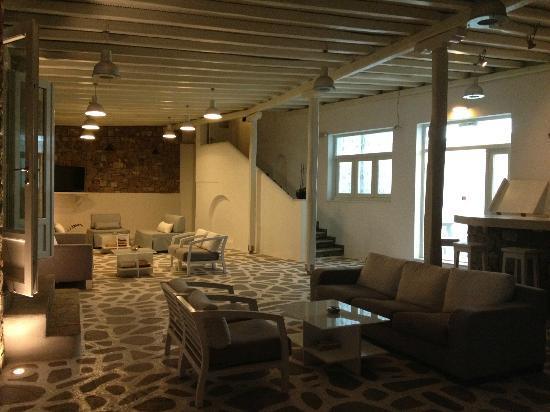 Argo Hotel Mykonos: Espace accueil