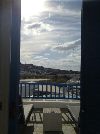 Argo Hotel Mykonos: vue de la chambre