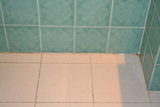Le Marabout Hotel: bathroom floor