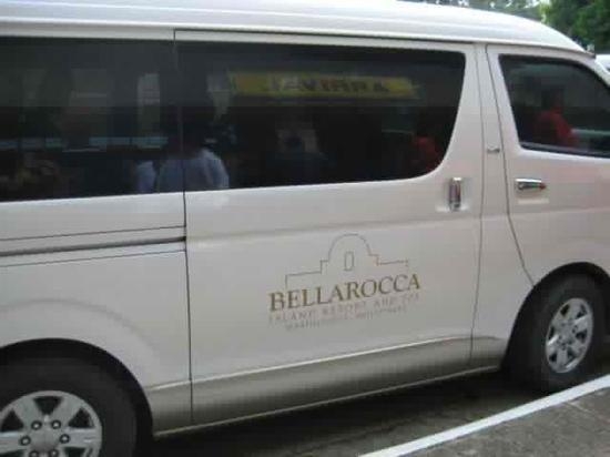 Bellarocca Island Resort and Spa: land transfer