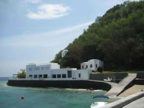 Bellarocca Island Resort and Spa: entrance to the island