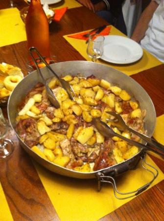 Ca' di Gosita : tegame di stufato con patate