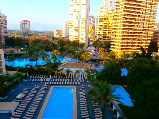 Flash Hotel Benidorm: Pool area