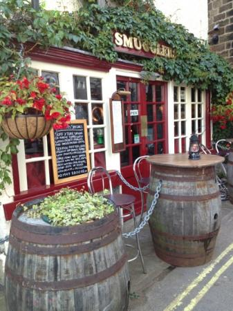 Smugglers: best place to eat in robin hoods bay