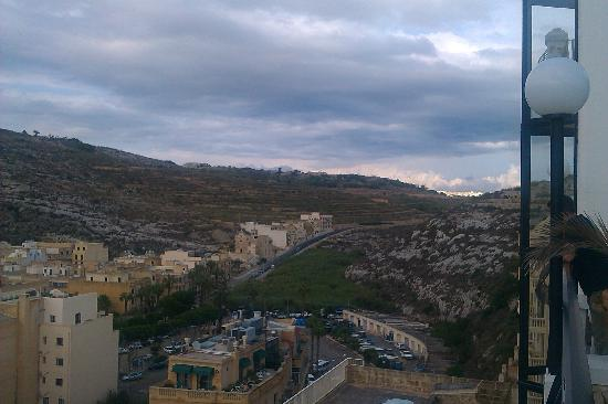 Hotel Xlendi Resort & Spa: View from the room which also include seaview on the other side