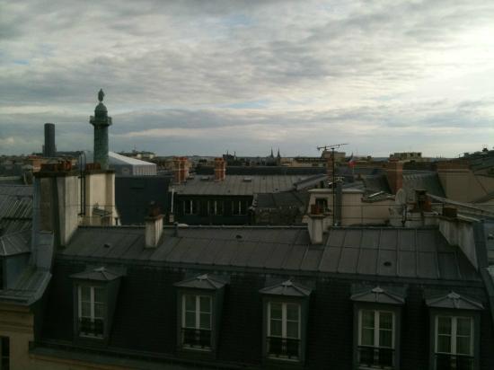 بارك حياة باريس - فيندوم: vue suite présidentielle avec terrasse