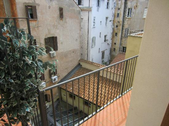 Navona Palace Luxury Inn: From the balcony