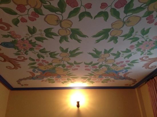 La Pasera: techo habitación