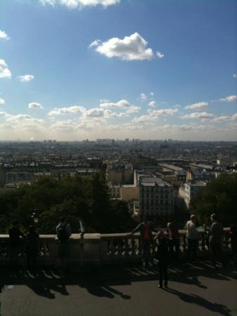 Comfort Hotel Paris La Fayette : THE view from sacre couer near THE hotel à 20 min walk