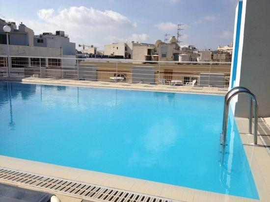 Park Hotel: Rooftop pool