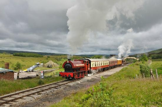 Pontypool and Blaenavon Railway: Heading for the Whistle Inn