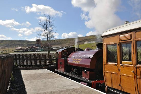 Pontypool and Blaenavon Railway: At the Big Pit Halt
