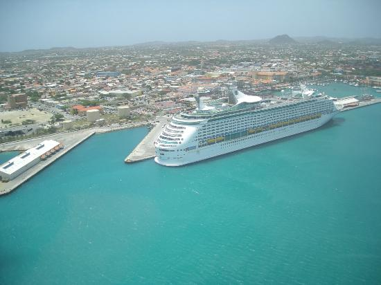 Cruise Ship In Harbour Picture Of Heli Tours Aruba Oranjestad - Aruba tours for cruise ship passengers