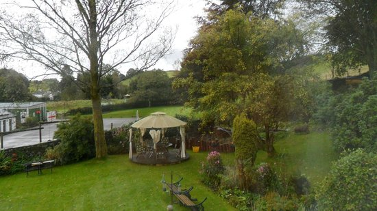 School House Cottage: View from our room