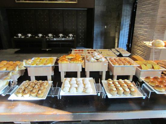 JW Marriott El Convento Cusco: Just Part of the Extensive Breakfast Buffet Spread