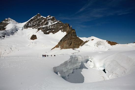 Camping Jungfrau: En el Jungfrauhoch