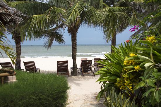 Mia Resort Mui Ne: Lovely private beach setting