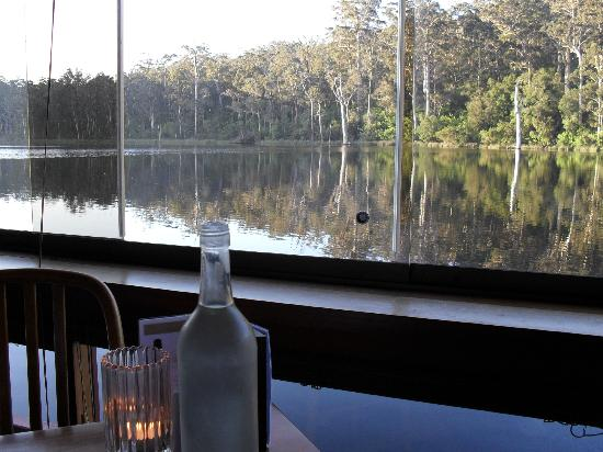 Karri Valley Resort: View from the restaraunt during dinner