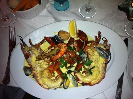 Mediterranean: lobster