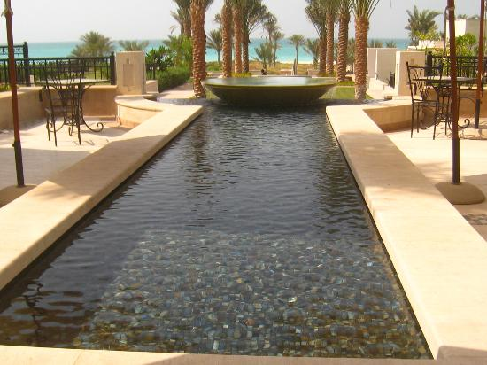 The St. Regis Saadiyat Island Resort : joli