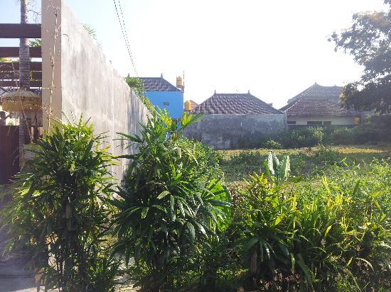 Villa Ben: links von der Anlage
