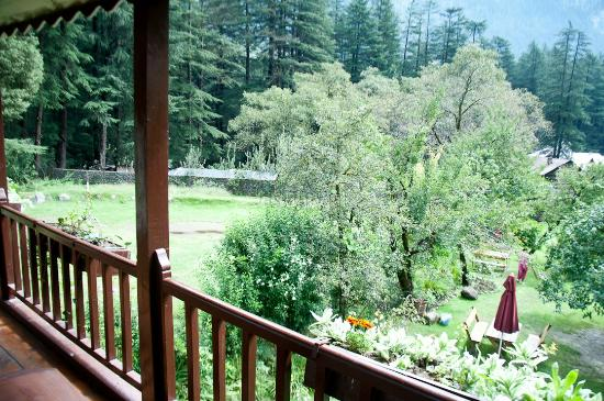 Baikunth Manali : View from balcony