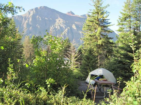 Photo of Rising Sun Campground Glacier National Park