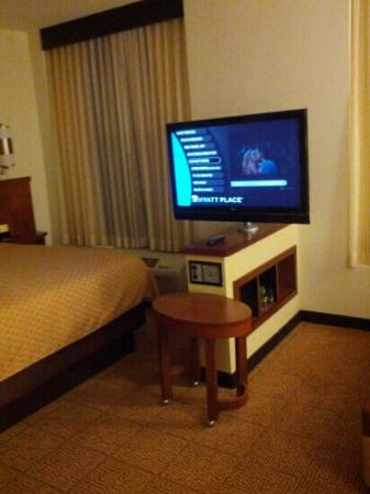 Hyatt Place Garden City: tv