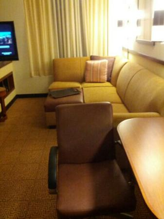 Hyatt Place Garden City: living room