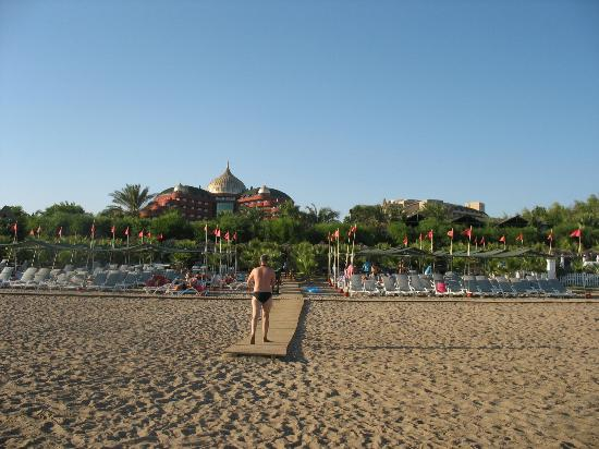 Delphin Palace Hotel: Beach area