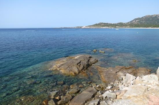 "Algajola, France: Aregno Plage ( 42°36'34.40""N, 8°52'15.20""E)"