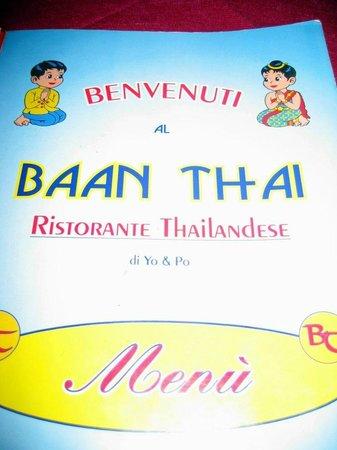 Ristorante Thailandese Baan Thai: ingresso