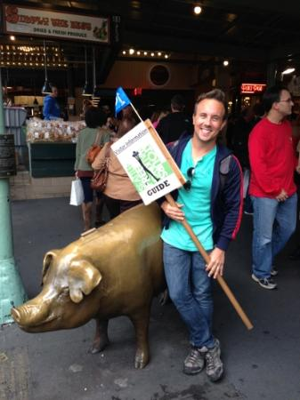 Seattle Free Walking Tours: Our tour guide, Jake