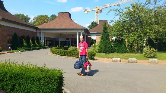 Mercure Lille Metropole Hotel : Main entrance