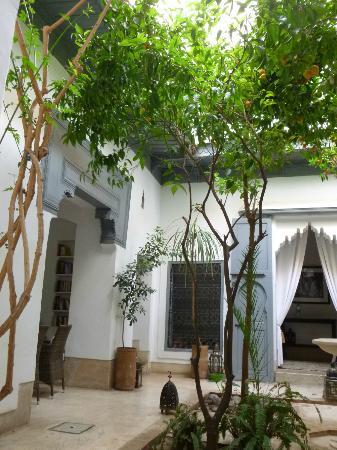 Dar Hanane: Cour intérieure