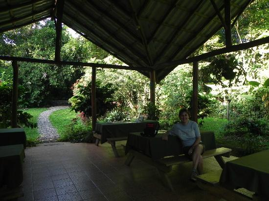 Arenal Oasis Eco Lodge & Wildlife Refuge: Zona del comedor