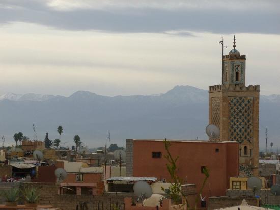 Dar Hanane: Vue depuis la terrasse