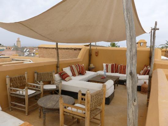 Dar Hanane: Terrasse
