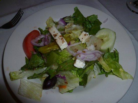 Limani: excellent Greek salad