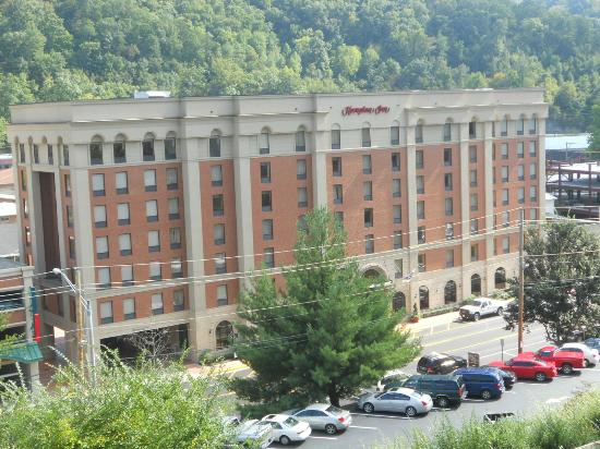 hotel from upike campus picture of hampton inn pikeville rh tripadvisor com