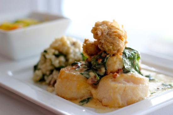 Duval's Fresh. Local. Seafood.: Scallops Rockefeller